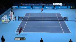 Federer VS Djokovic – London 2010