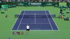 (HD) Federer vs Isner – Indian Wells final – Extended highlights