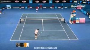 Australian Open 2012 R4 – Federer vs Tomic HD 1080p highlights