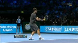 Roger Federer vs Rafael Nadal ATP Barclays World Tour Finals 2011 Round Robin 1080p Highlights