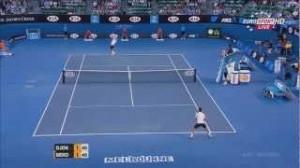2013年オーストラリアンオープン準々決勝ジョコビッチ